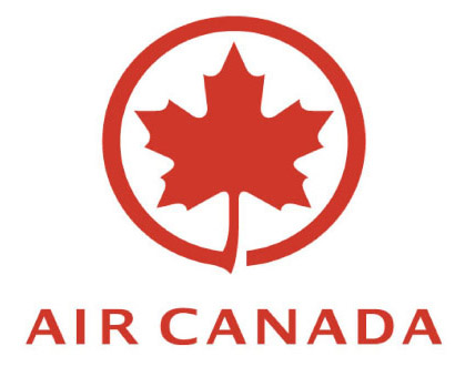 Logo Air Canada - Cliente Royal Courier