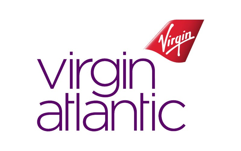 Logotipo Virgin Atlantic - Cliente Royal Courier